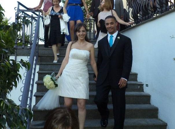 Irene ed Eric Ateleba Sposa Napoli