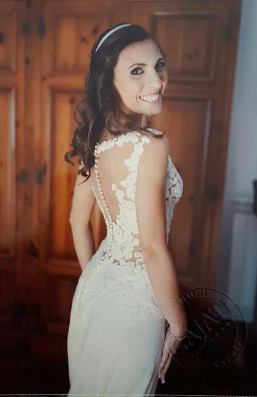 le misure dell'abito da sposa