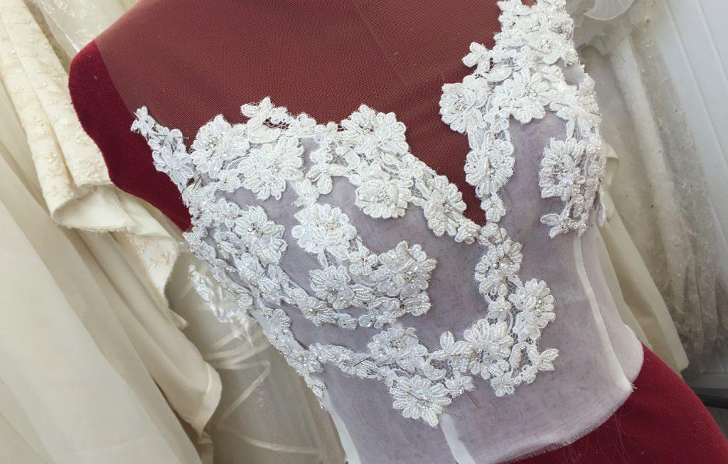 Realizzazione in sartoria del tuo abito da sposa