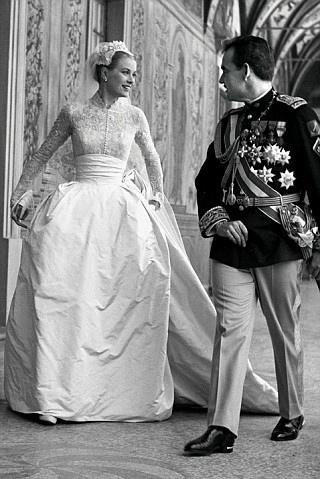 L'abito da sposa di Grace Kelly