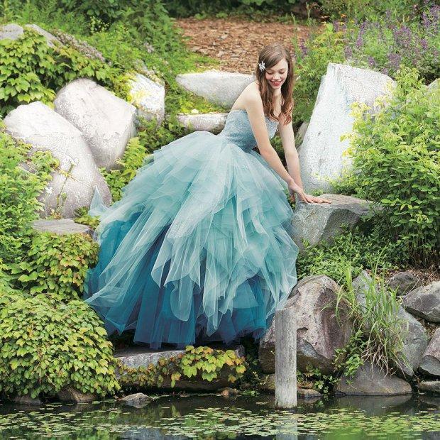 Abito da sposa da principessa di Ariel