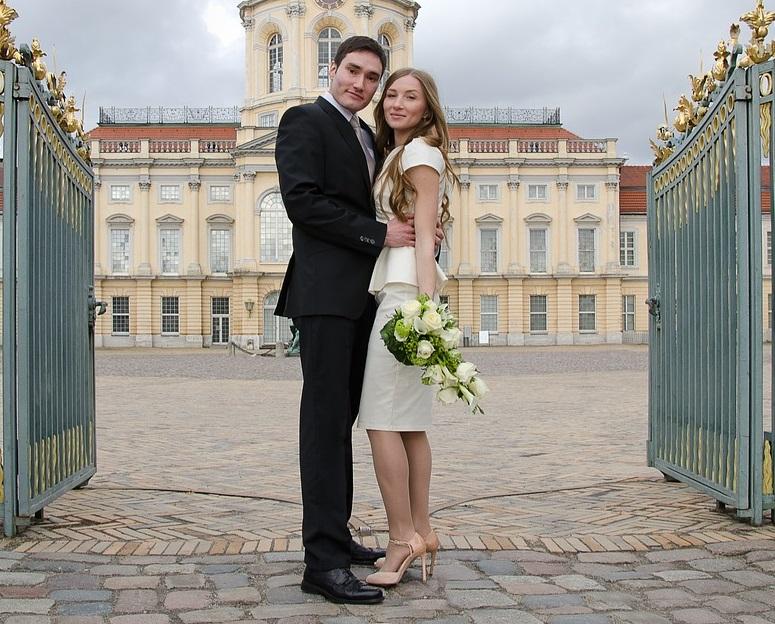 abito da sposa corto matrimonio civile