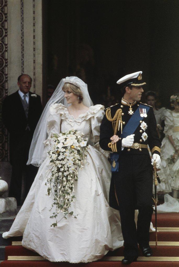 L'abito da sposa di Lady Diana